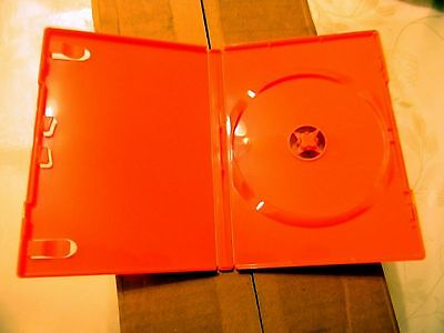Dvd Cases Wholesale Lot Of 60 Orange