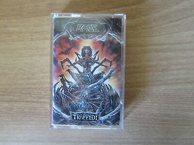 RAGE - Trapped ! Korea Edition Cassette Tape 1992 NM