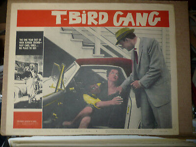 T-BIRD GANG, orig 1959 LC #1 (John Brinkly, Pat George) - sitting in t-bird