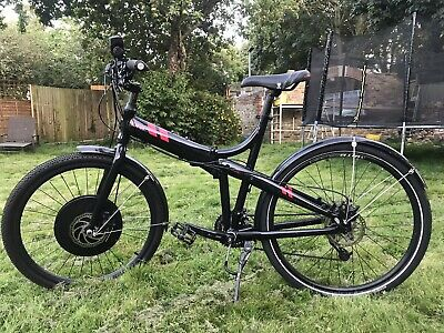 Tern Joe Folding Bike With Electric iMortor Wheel
