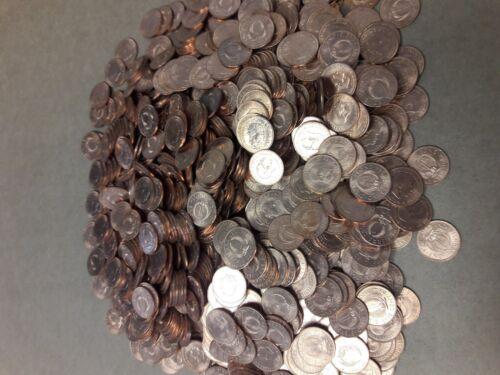 1000 1964 Sierra Leone one cent BU KM 17. UNCIRCULATED