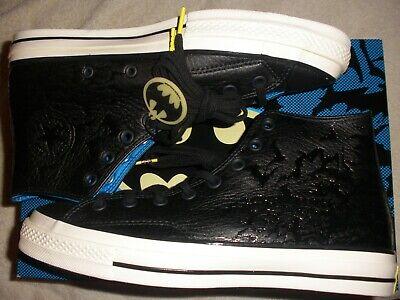 men size 9.5 or women 11.5 Converse Batman Comic CTAS 70 Hi shoe 155358c