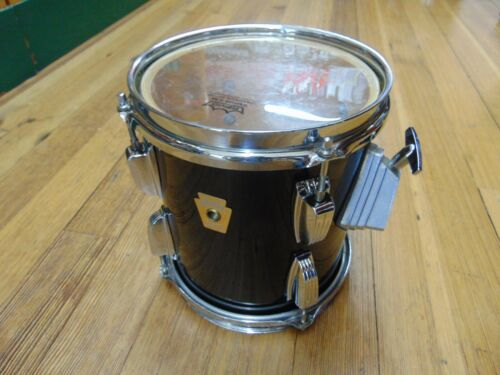 Ludwig 8x9 Classic Maple Tom Drum, Black, Late 80