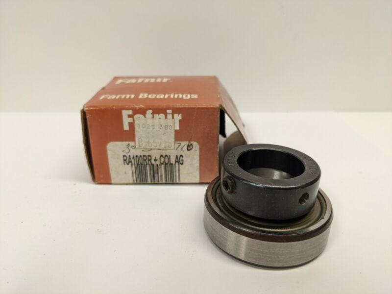 TIMKEN/FAFNIR RA100RR +COL AG Ball Insert Bearing-New