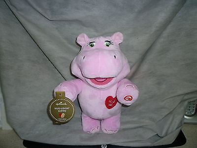 Hippo - Hallmark Plush Hug-Lovin' Singing and Dancing Hippo