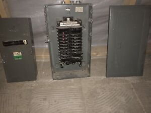 100 Amp Panel and Breakers