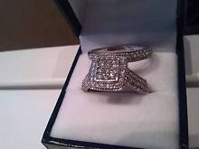 *********** DIAMOND BRIDAL CLUSTER - 2.00 carat RING *********** West Perth Perth City Preview