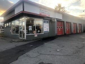 Garage à louer ou à vendre très bien situé