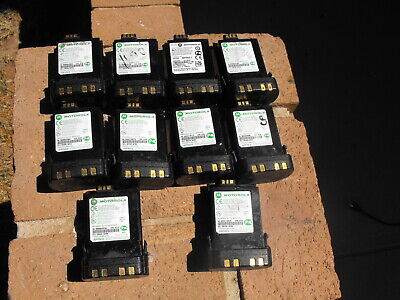 Lot Of 10 Motorola Impres Nntn8092a 7.4v Lithium Ion Battery Used