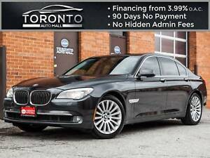 2010 BMW 7 Series i xDrive|heads up display|executive pkg|navi