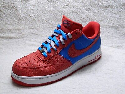 Nike Air Force 1 Low Mens Shoes Size 12 Photo Blue Hyper Red Basketball FREE