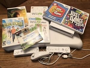 Nintendo Wii with Balance Board & games