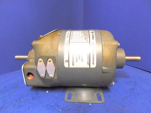 REBUILT - General Electric GE Motors 5BC46AB1581C Tacometer Generator 2 Shaft