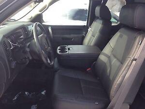 2010 2011 2012 2013 Chevrolet Crew Cab Katzkin Black Leather Seat Kit Silverado