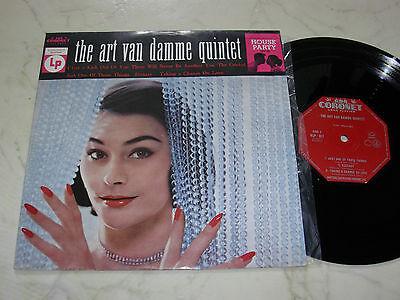 """10"""" THE ART VAN DAMME QUINTET Coronet Original 60s LP"""