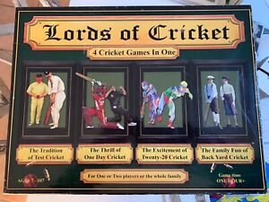 Lords of cricket Board game