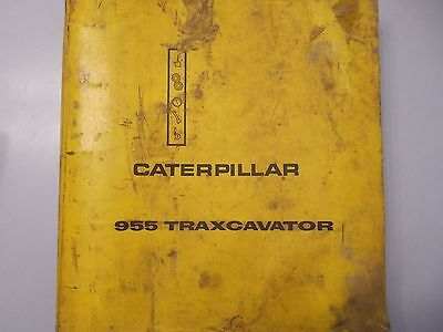 Caterpillar Cat 955 Traxcavator Service Repair Manual