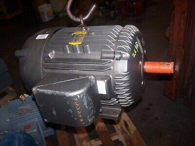 Baldor 20 Hp Ac Electric Motor 286t Frame 230460 Vac 1160 Rpm Tefc M4102t