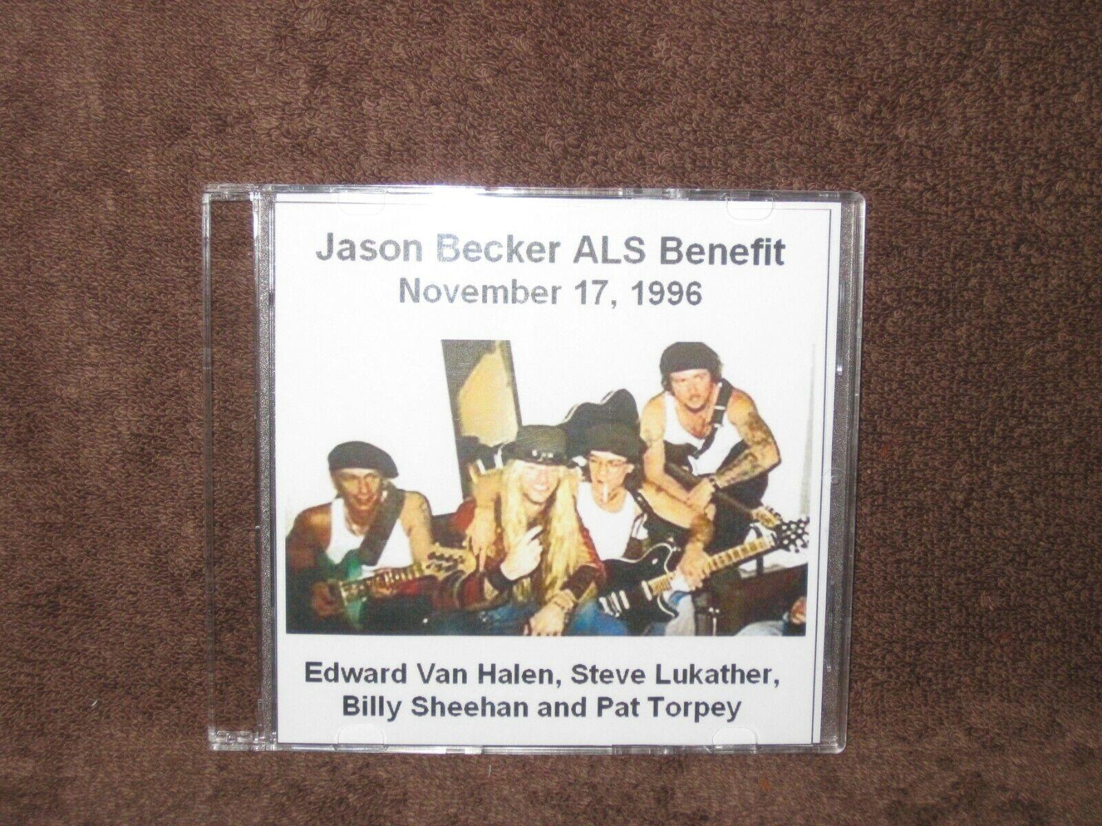 VAN HALEN, STEVE LUKATHER, BILLY SHEEHAN, PAT TORPEY Jason Becker ALS Benefit  - $14.99
