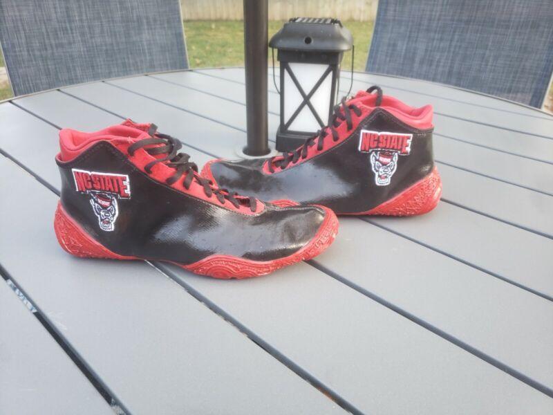 Rare NC STATE custom Wrestling Shoes