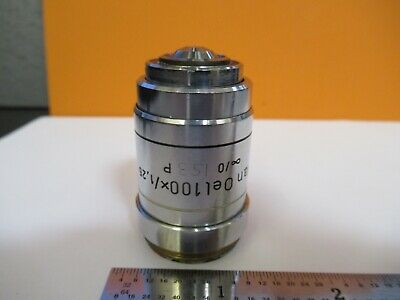 Reichert Leica Austria Objective 100x Pol Microscope Part As Pictured 8c-a-05
