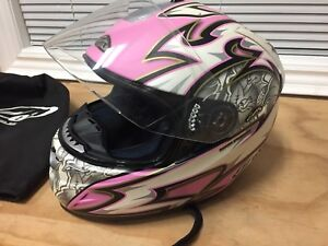 Zox Woman's Motorcycle Helmet XS