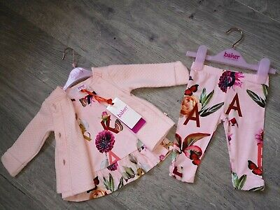 TED BAKER BABY GIRLS OUTFIT BEAUTIFUL AGE 3-6  MONTHS BEAUTIFUL NEW WITH TAGS