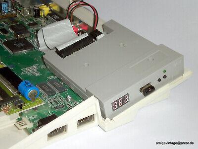 Amiga USB Gotek Floppy Emulator HxC ADF 500/600/1200 sound Atari Schneider CPC