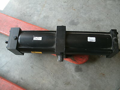 New Large Parker Pneumatic Cylinder 2a 06.00 Cdd24u14ac 24 Swivel Stroke