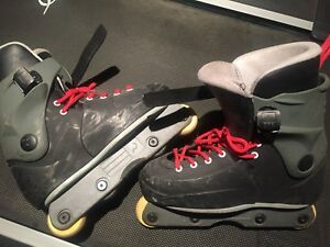 Roller blade freestyle