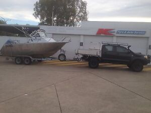 5.9 m 1/4 cab Plate Boat Deception Bay Caboolture Area Preview