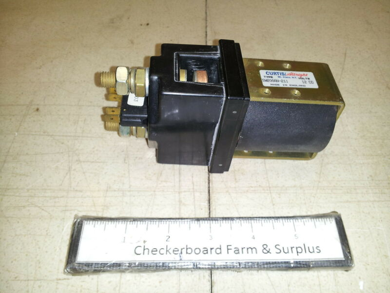 NOS Curtis-Wright Magnetic Contactor SW200AN-211 P-2557-12 12V DC 6110012620094