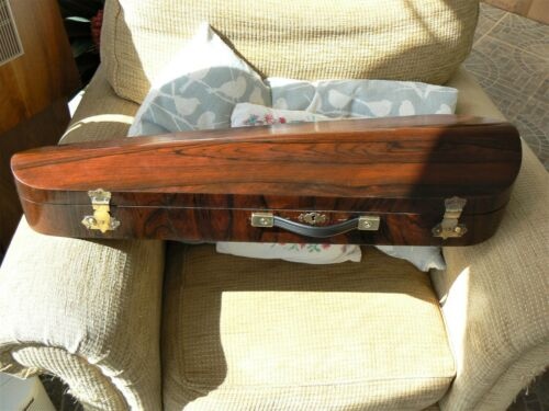 Victorian Antique Rosewood Violin Case  - Full Size