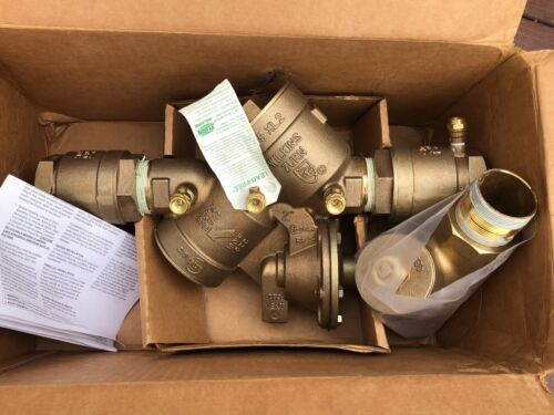 """2"""" Wilkins 975XL2S Lead Free Reduced Pressure Backflow Assembly w/ WYE Strainer"""