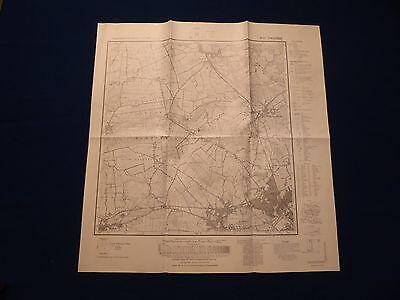 Landkarte Meßtischblatt 1623 Owschlag, Alt Duvenstedt, Fockbek, Rendsburg, 1961