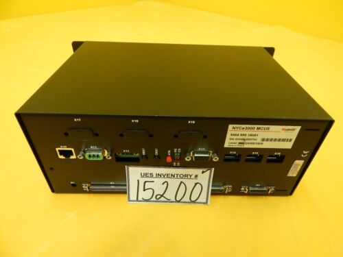 Nyquist Nyce3000 Mcu5 Motion Controller Fei 9464 999 16081 Clm-3d Used Working