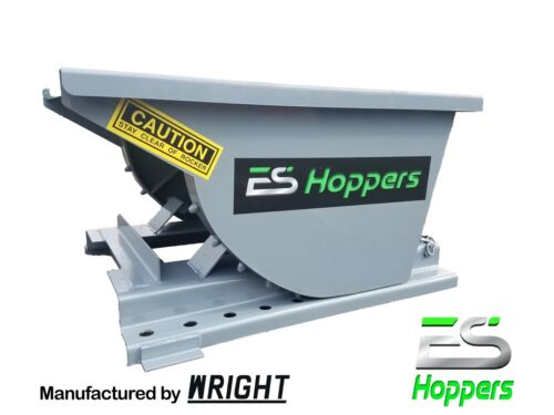 Es Hopper Wright .25 Yard Self Dumping Hopper Forklift Dumpster Local Pickup