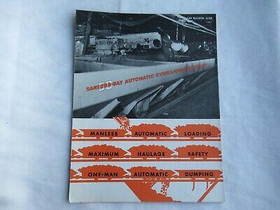 Sanford-day Construction Equipment Brochure