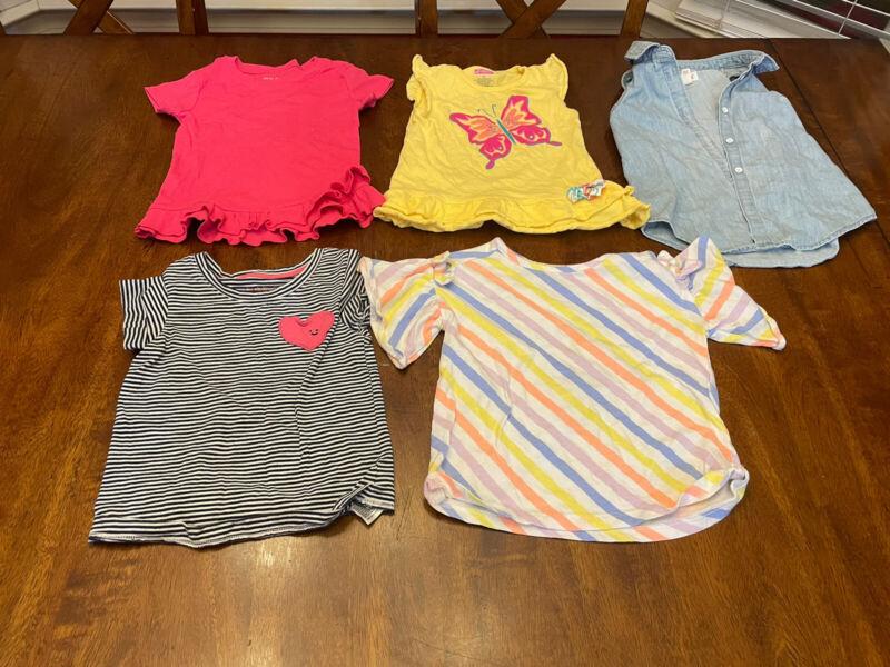 3t Girls Clothes Lot Summer Dresses 5pcs + Bonus! 3 Pair Of Summer Pajamas