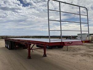 Flat top tri axle 45ft
