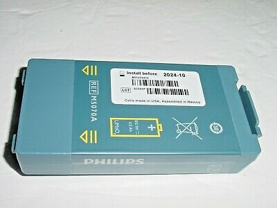Genuine Philips Heartstart Aed M5070a Battery Frxhomeonsite Install By 2024-10