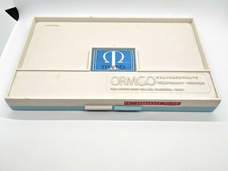 Tempres Ormco Polycarbonate Dental Crowns