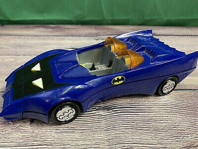 Vintage 1984 Kenner Blue Batmobile DC Comics Super Heroes Batman Car Batmobile
