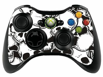 Skulls Xbox 360 Remote Controller/Gamepad Skin / Cover / Vinyl  xbr33