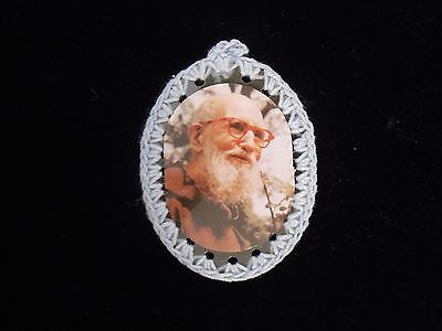 Father Solanus Casey Relic Badges Cloth Touched Tomb Catholic Venerable