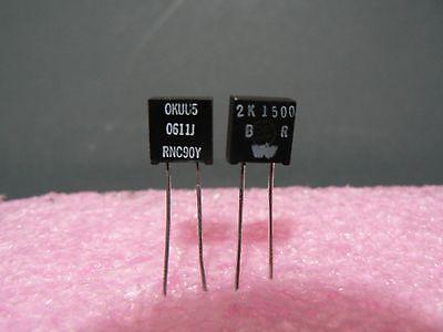 4 Pcs. Rnc90y Series Vishay Metal Foil Resistor Rnc90y2k1500br Us Seller
