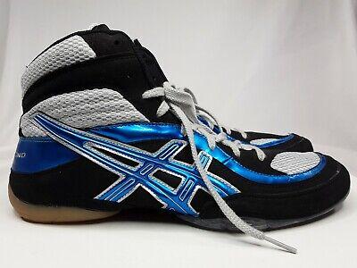 asics split second wide wrestling shoes navy