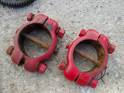 Farmall A Sa Tractor Ih Adjustable Wide Frontend Widefront End Collars Pins