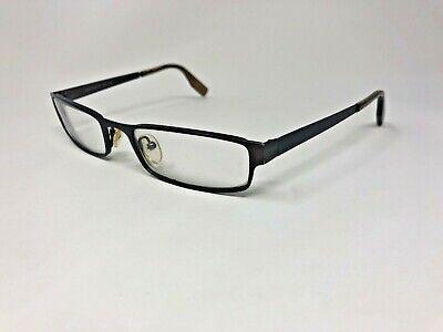 Crazy Horse Glasses Frames (CRAZY HORSE MOD.213 EOZ Eyeglasses Frame 53-19-135 Dark Brown Matte)