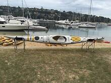 Mirage 520 fibreglass sea kayak (ex-rental) Mosman Mosman Area Preview